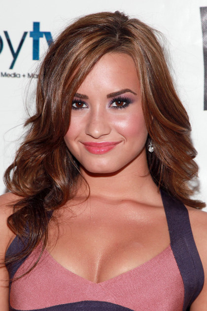 HOLLYWOOD - JULY 19: Actress Demi Lovato attends the 2010 VH1 Do Something Awards after party at La Vida on July 19, 2010 in Hollywood, California. (Photo by Angela Weiss/Getty Images) *** Local Caption *** Demi Lovato