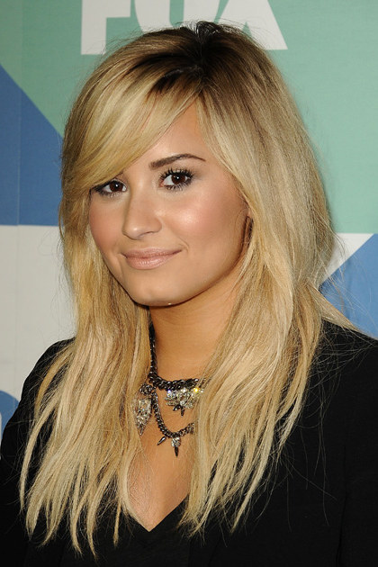WEST HOLLYWOOD, CA - AUGUST 01: Demi Lovato attends the FOX All-Star Party on August 1, 2013 in West Hollywood, California. (Photo by Jason LaVeris/FilmMagic)