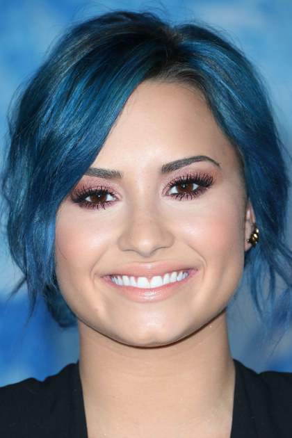 HOLLYWOOD, CA - NOVEMBER 19: Singer Demi Lovato attends the Premiere of Walt Disney Animation Studios'