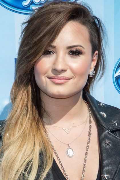 LOS ANGELES, CA - MAY 21: Singer Demi Lovato arrives at the American Idol XIII grand finale at Nokia Theatre L.A. Live on May 21, 2014 in Los Angeles, California. (Photo by Chelsea Lauren/WireImage)