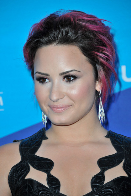 LOS ANGELES, CA - FEBRUARY 27: Singer Demi Lovato attends the 1st Annual Unite4:humanity Event hosted by Unite4good and Variety on February 27, 2014 in Los Angeles, California. (Photo by Allen Berezovsky/WireImage)