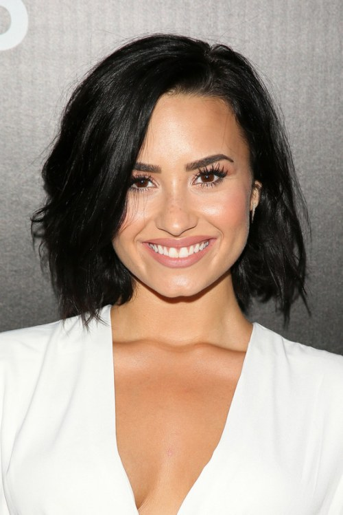 WEST HOLLYWOOD, CA - AUGUST 18: Demi Lovato attends the Samsung launch party on August 18, 2015 in West Hollywood, California. (Photo by JB Lacroix/WireImage)