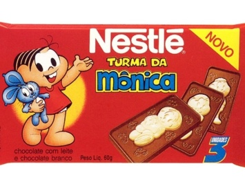Chocolate Turma da Monica